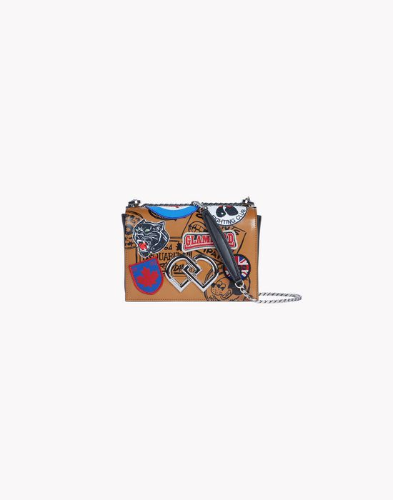 mini patch dd bag handbags Woman Dsquared2