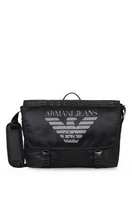 Armani Messenger bags Men technical fabric messenger bag