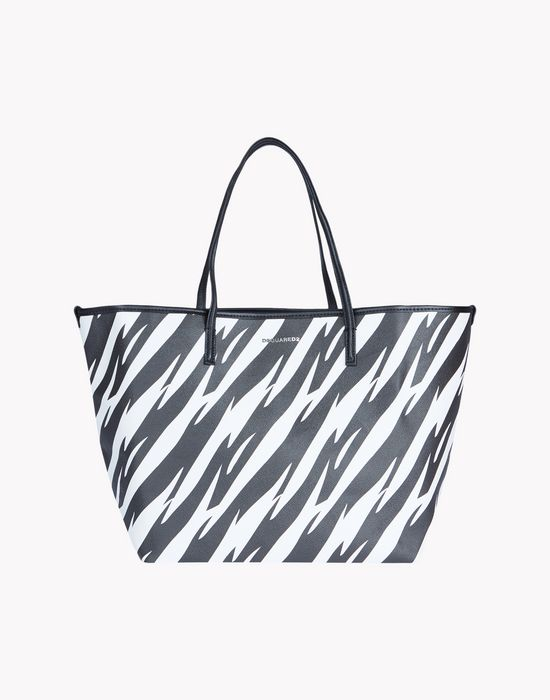 tiger flash tote bags Woman Dsquared2