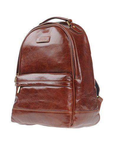 Рюкзаки и сумки на пояс GIUDI. Цвет: темно-коричневый