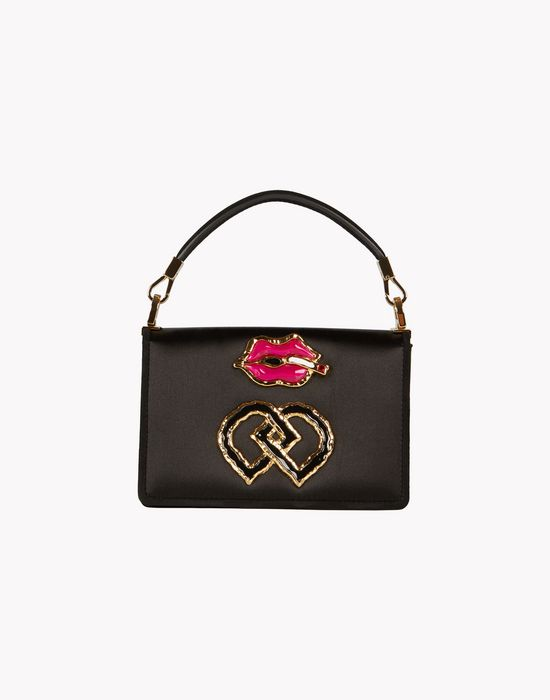 satin embellished dd bag handbags Woman Dsquared2