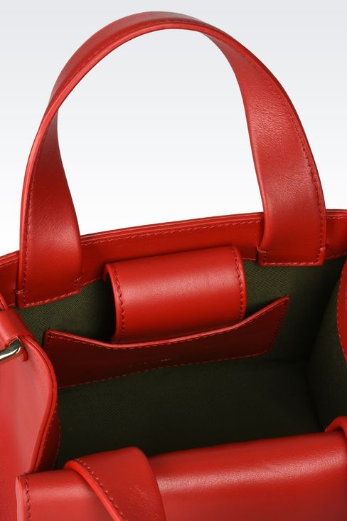 Bags: Top handles Women by Armani - 3