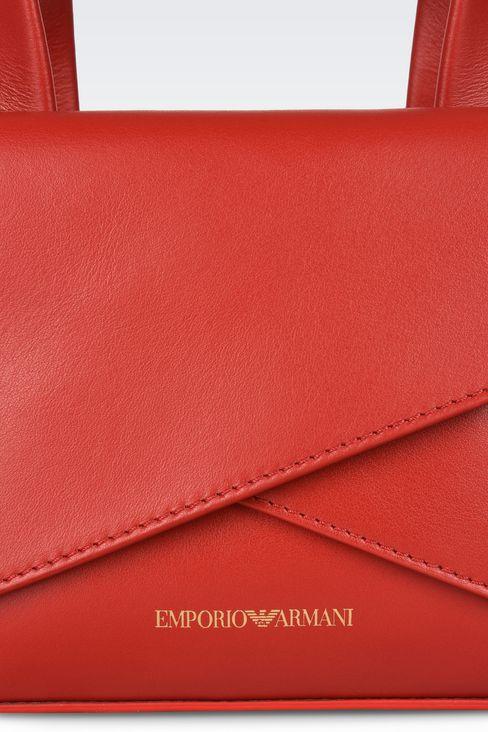 Bags: Top handles Women by Armani - 4
