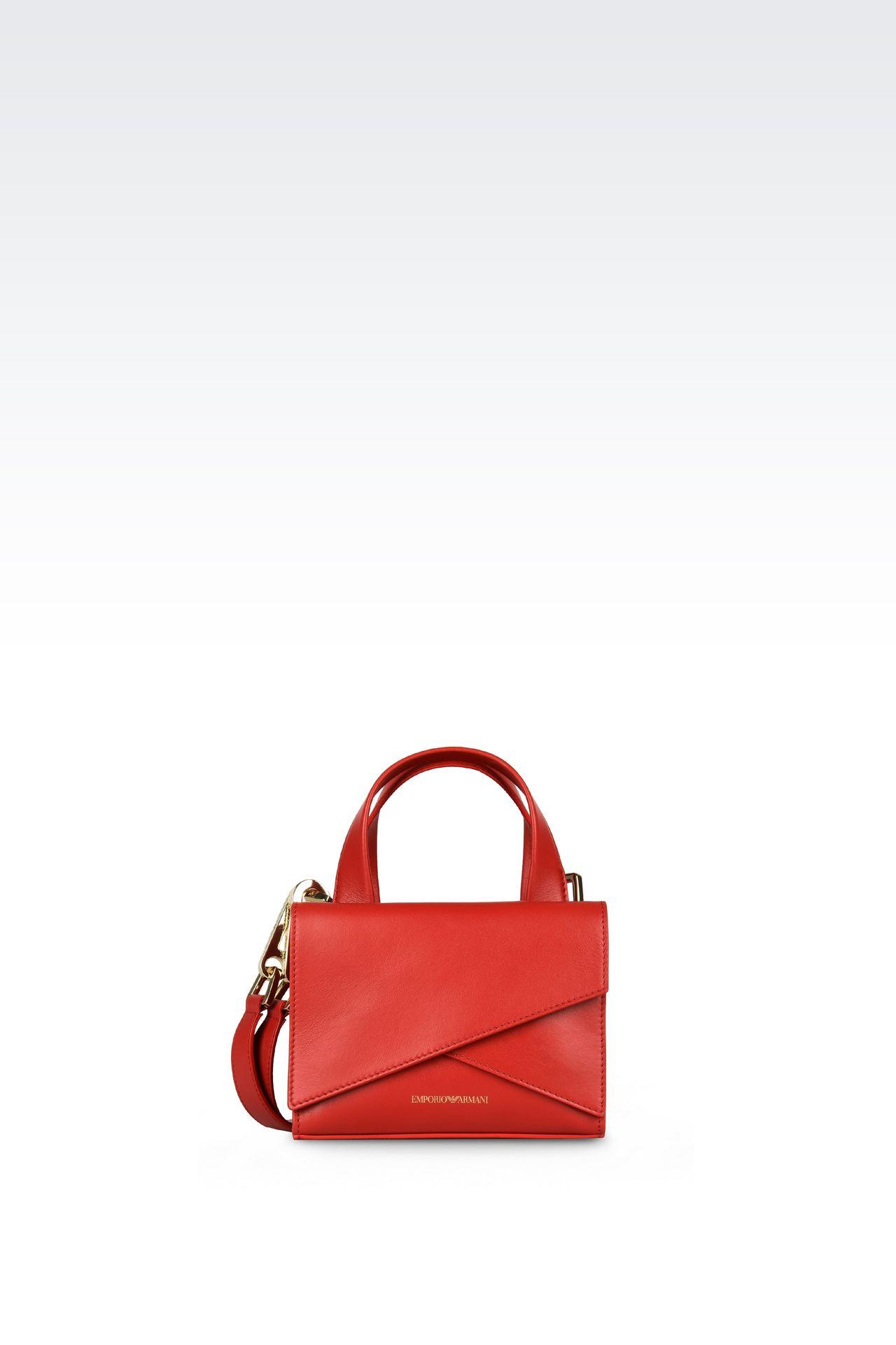 Bags: Top handles Women by Armani - 0