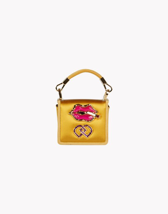 satin embellished dd bag bolsos Mujer Dsquared2