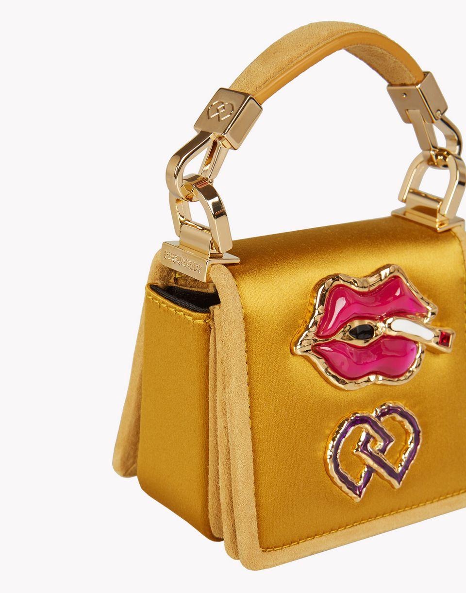 satin embellished dd bag bags Woman Dsquared2