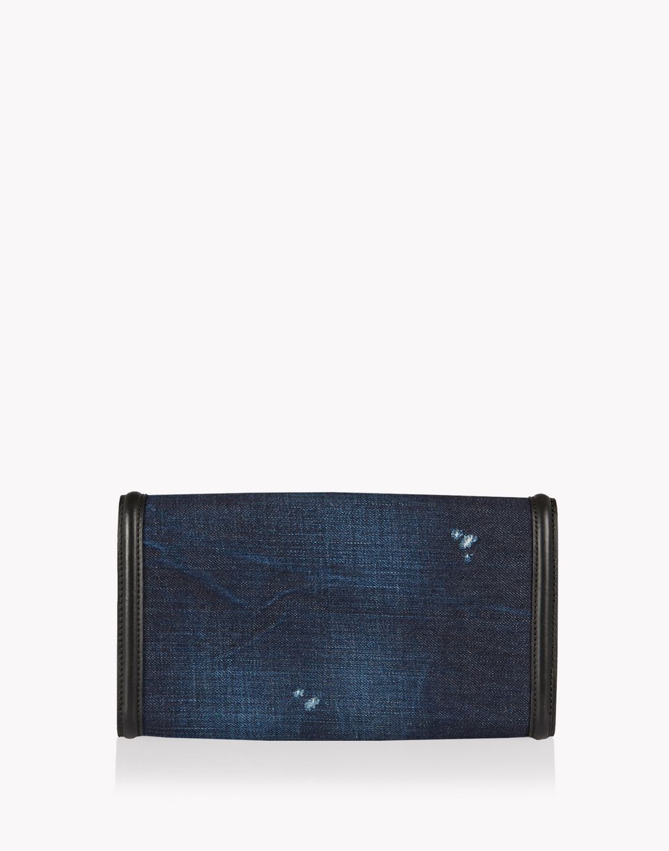 denim embellished dd wallet handbags Woman Dsquared2