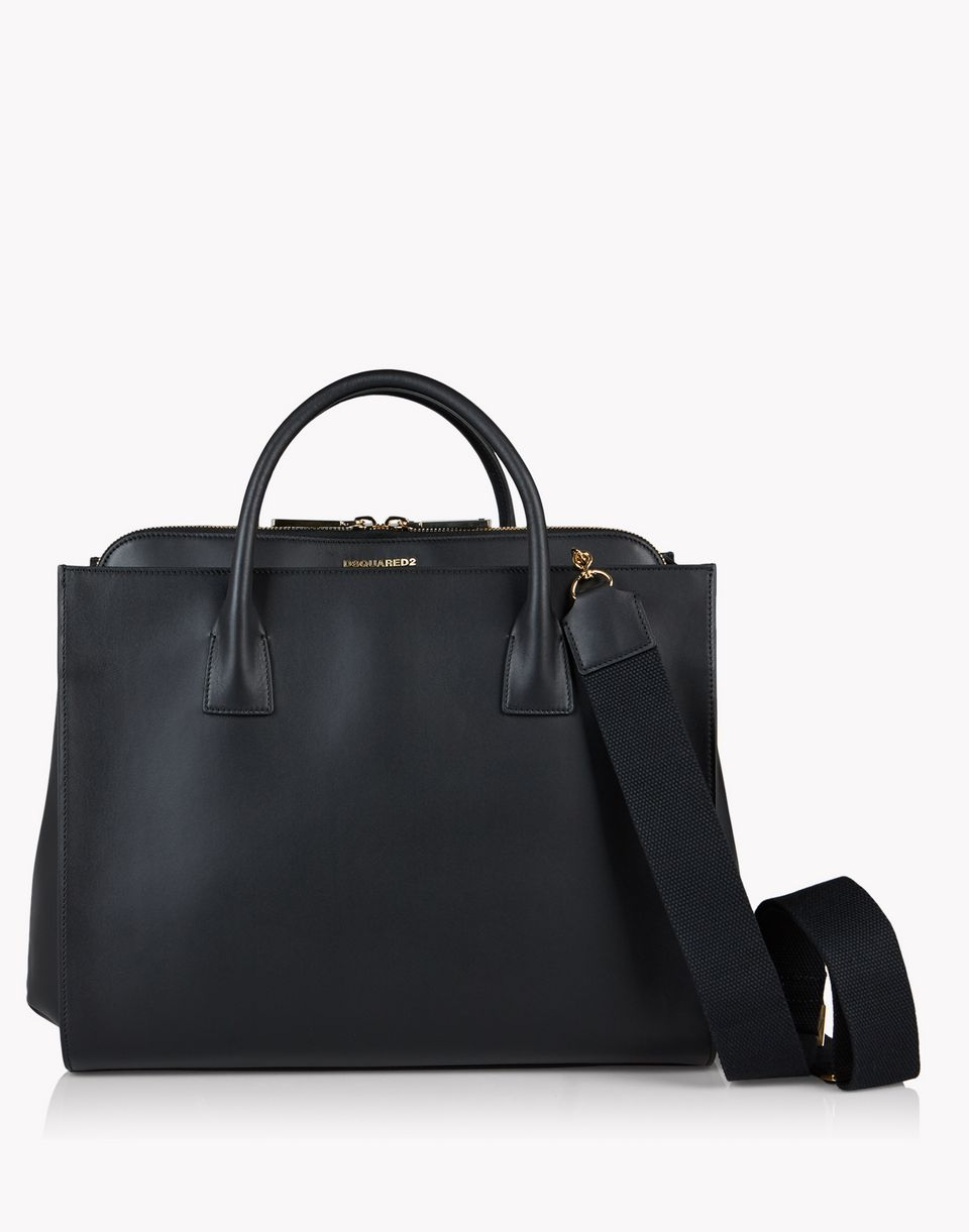 leather deana handbag bags Woman Dsquared2