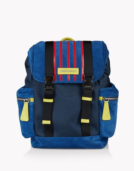 suede donald backpack sacs Homme Dsquared2