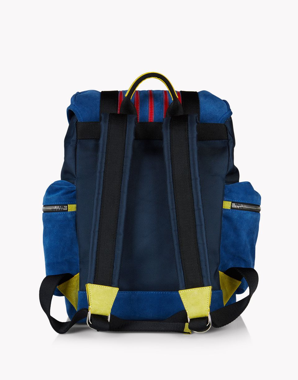 suede donald backpack bags Man Dsquared2
