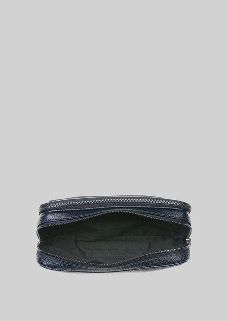 LEATHER CHANGE PURSE : Money Bags Men by Armani - 5
