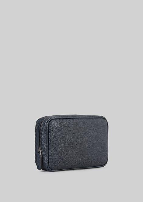 LEATHER CHANGE PURSE : Money Bags Men by Armani - 3