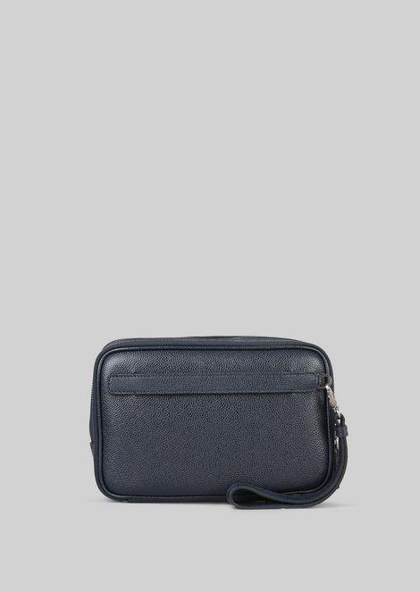 LEATHER CHANGE PURSE : Money Bags Men by Armani - 4