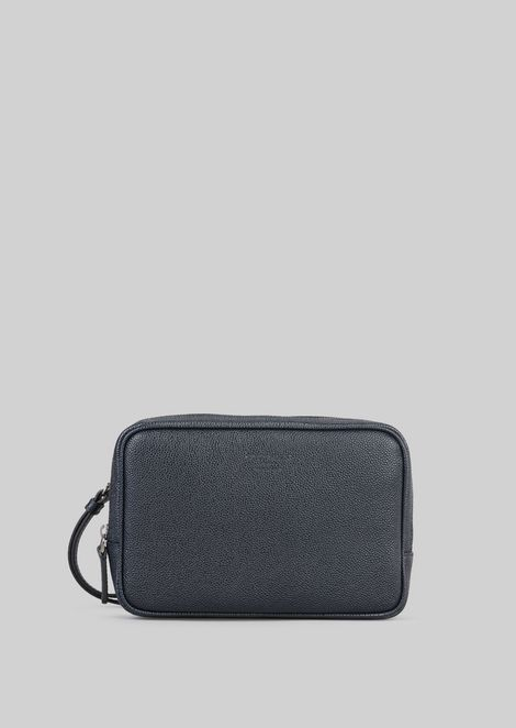 LEATHER CHANGE PURSE : Money Bags Men by Armani - 1