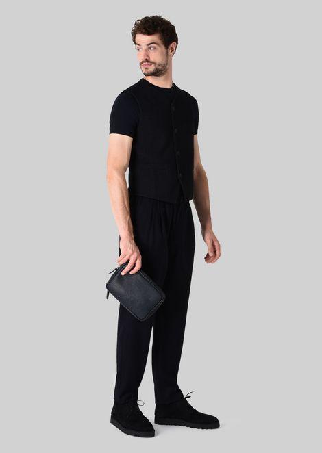 LEATHER CHANGE PURSE : Money Bags Men by Armani - 2