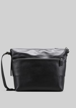 Armani Messenger Bags Men leather cross-body bag