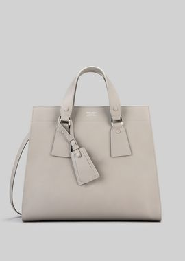 Armani Shoppers Women tote bag in vegetable tanned calfskin