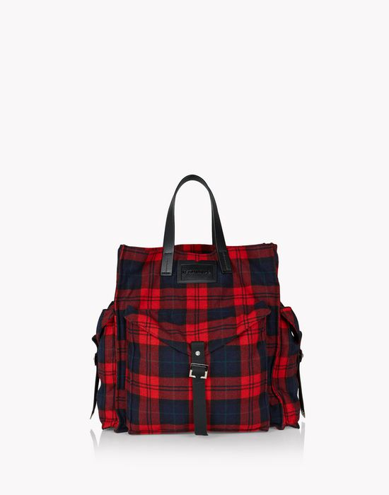 check military chic tote handbags Man Dsquared2