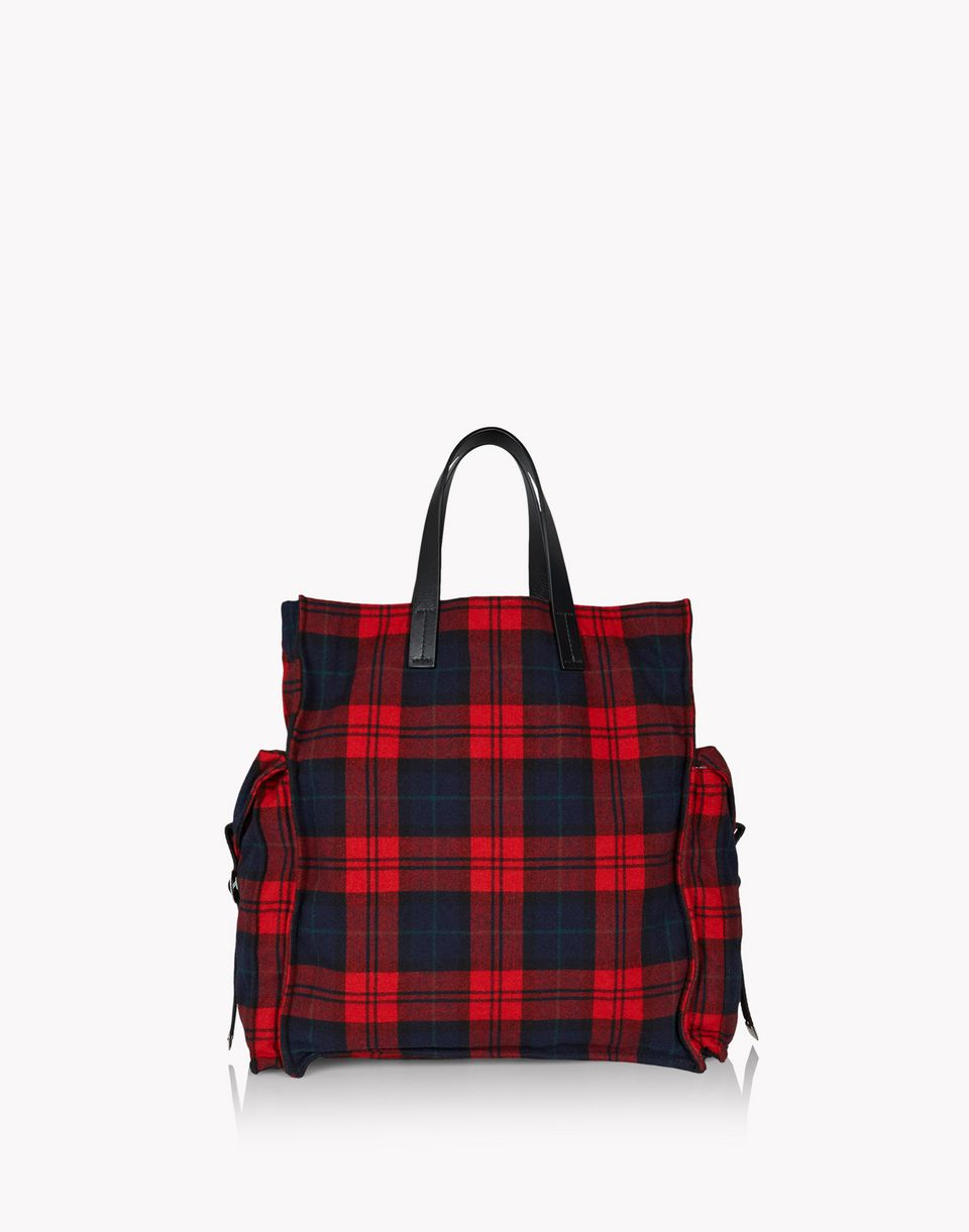 check military chic tote bags Man Dsquared2