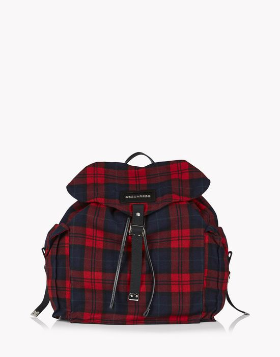 check military chic backpack sacs Homme Dsquared2