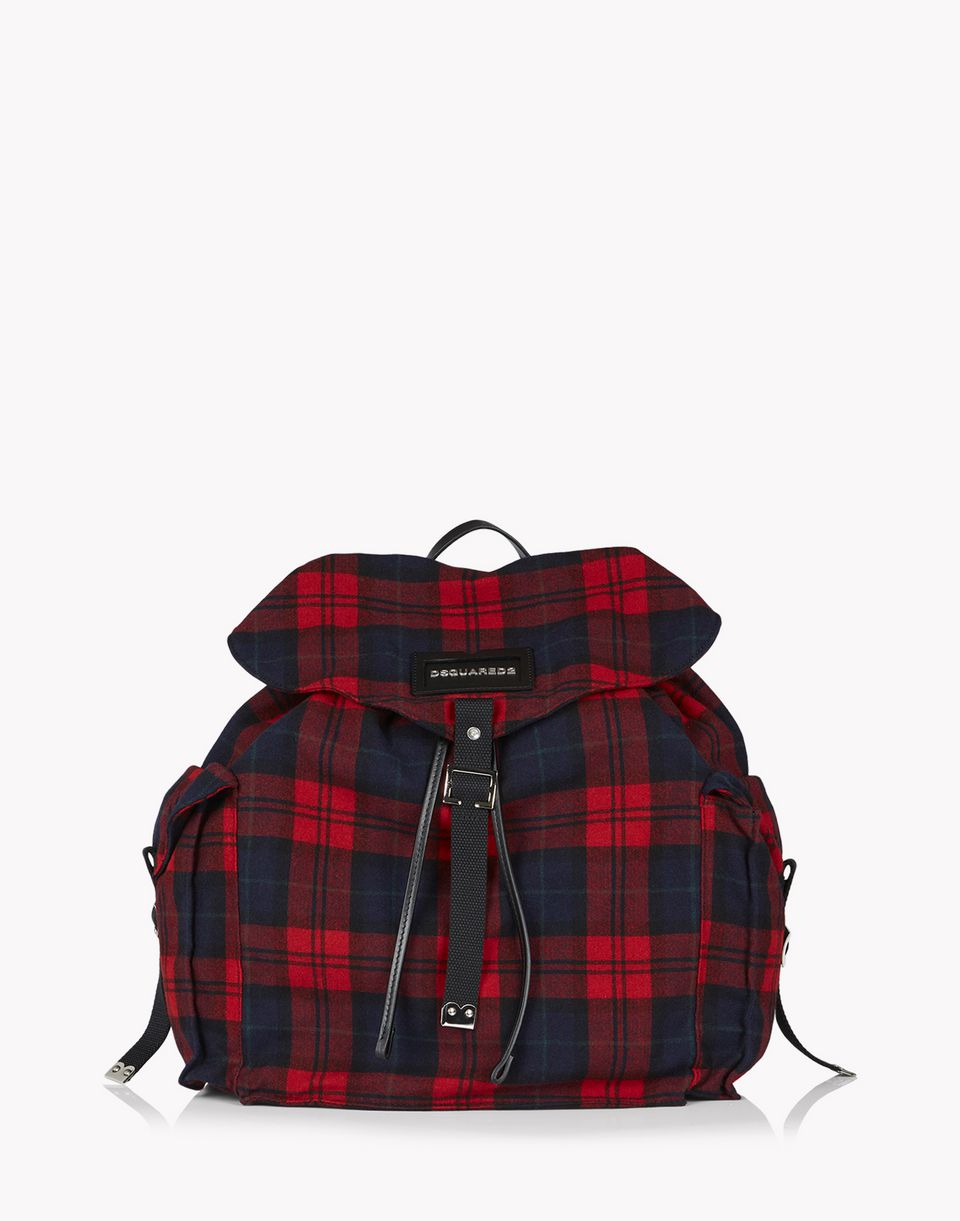 check military chic backpack taschen Herren Dsquared2