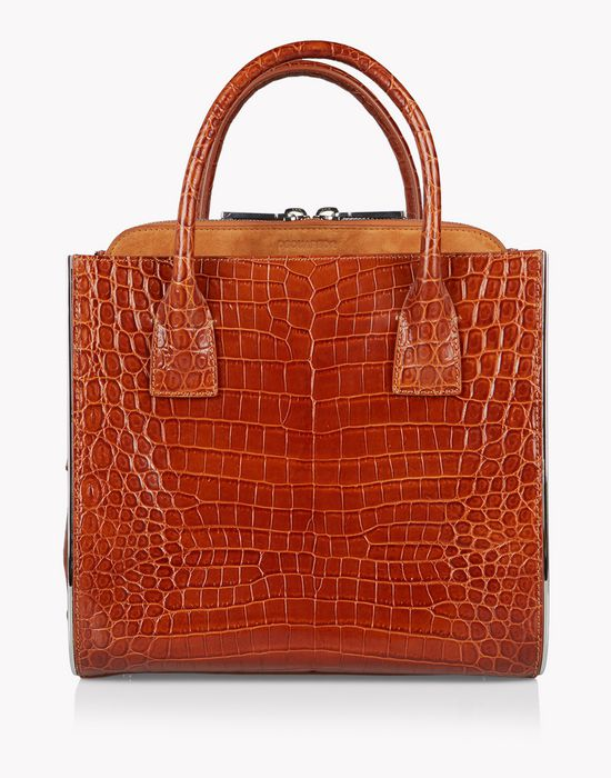 croc-effect deana handbag borse Donna Dsquared2