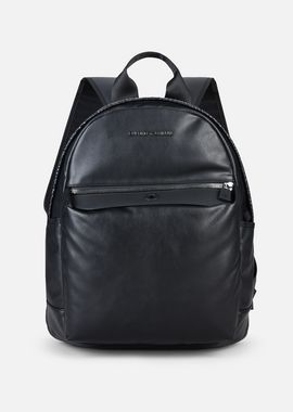 Armani Backpacks Men python print nappa and eco-leather backpack