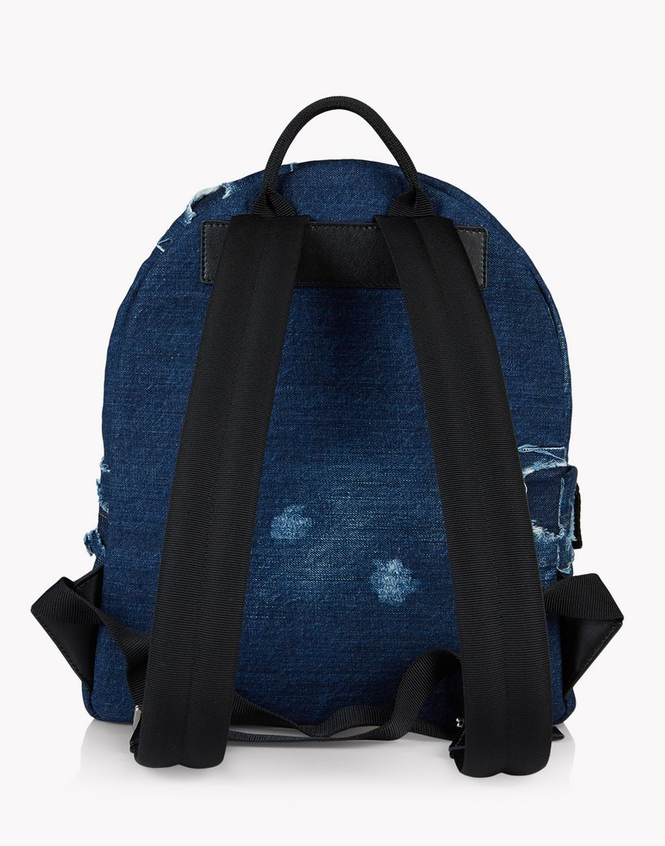 denim patch backpack handbags Man Dsquared2