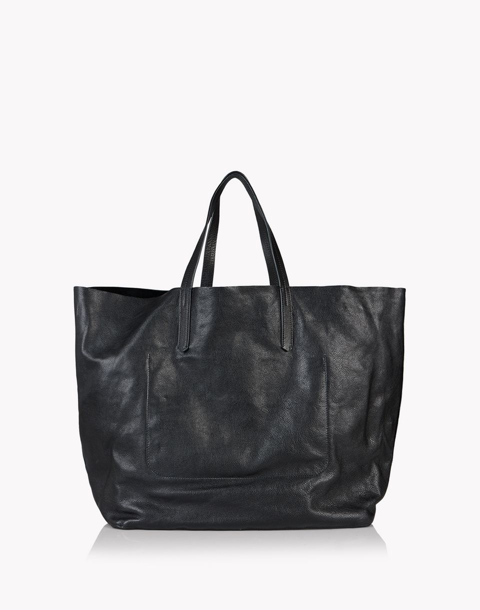 contrasted pocket rock tote handbags Man Dsquared2