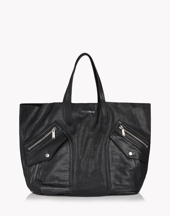 pocket rock tote bags Man Dsquared2