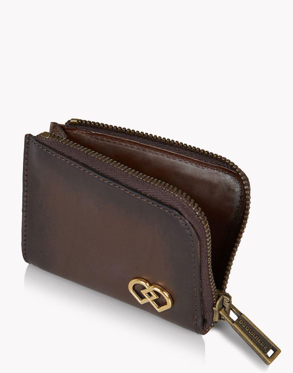 dd gang zip wallet weitere accessoires Herren Dsquared2