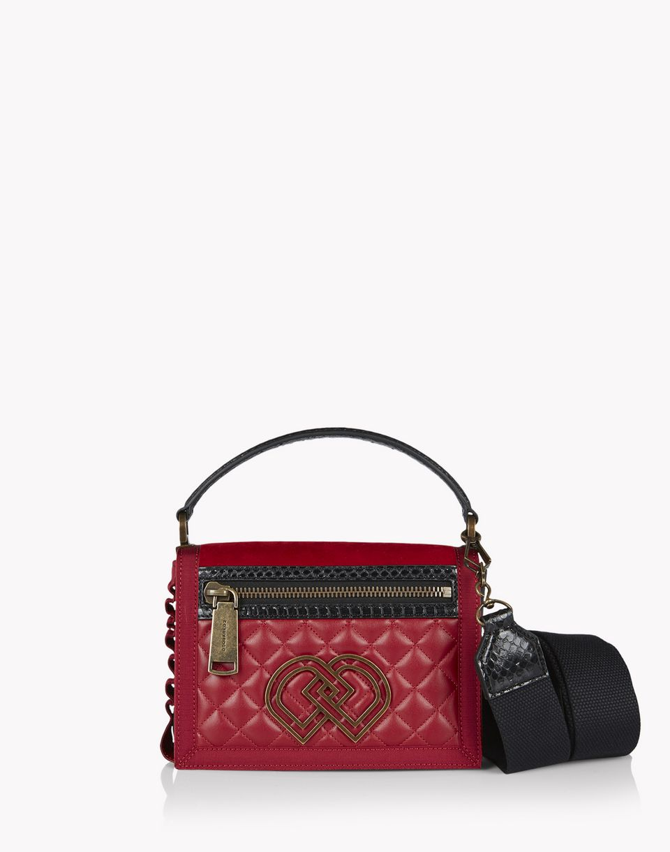medium quilted dd shoulder bag bags Woman Dsquared2