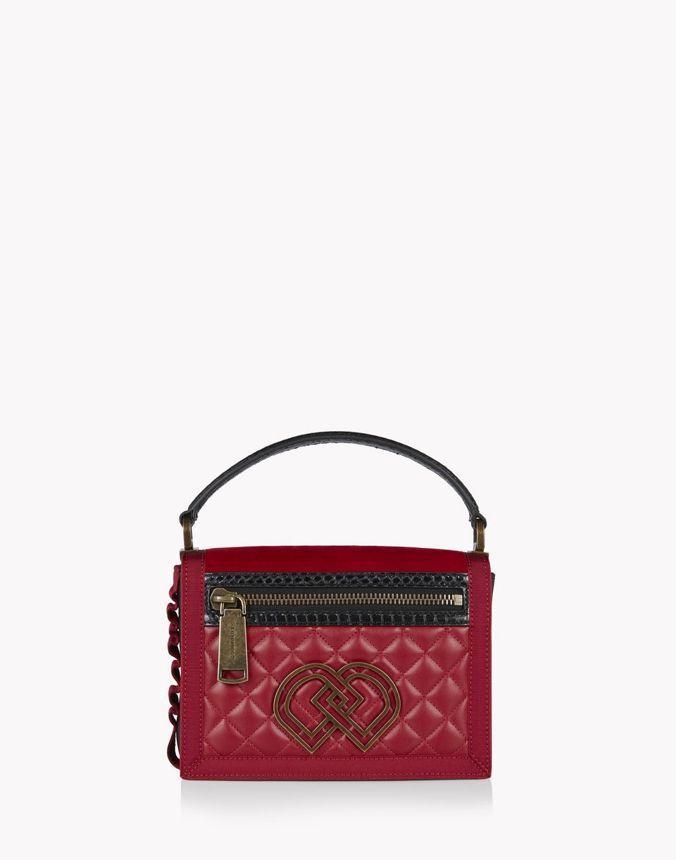quilted medium dd shoulder bag handbags Woman Dsquared2
