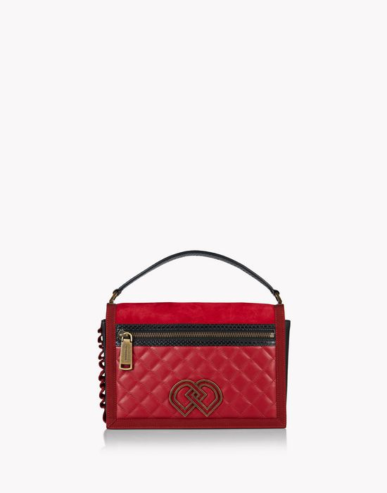 quilted dd shoulder bag сумки Для Женщин Dsquared2