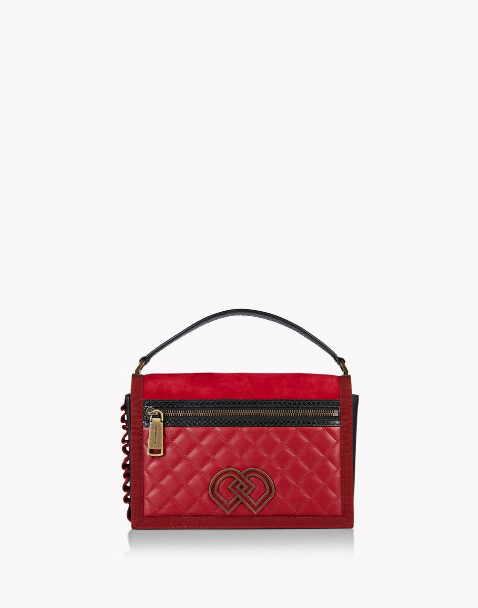 quilted dd shoulder bag handbags Woman Dsquared2
