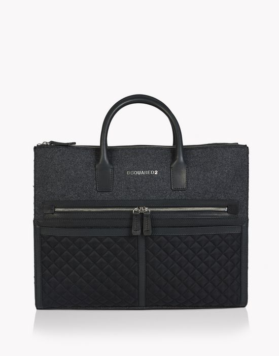 twin zip bags bags Man Dsquared2