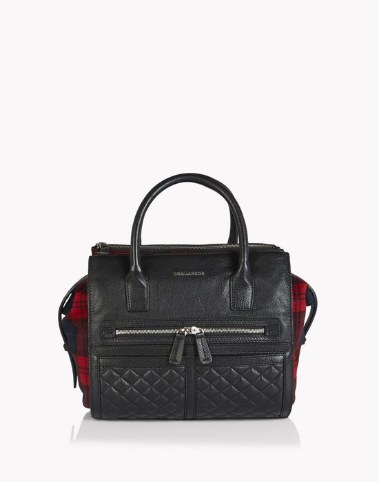 twin zip hand bag bags Woman Dsquared2