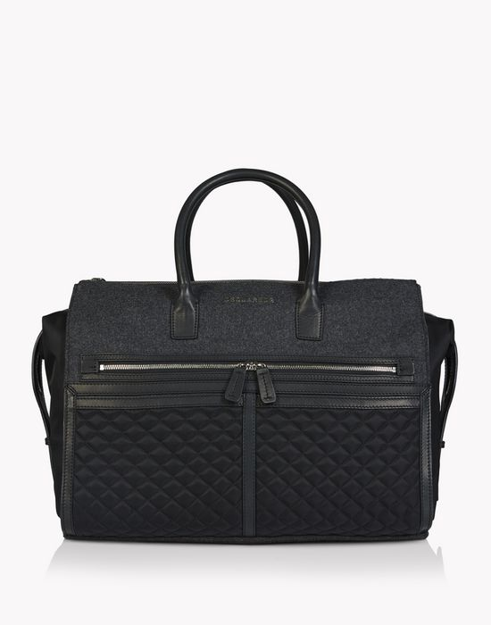 twin zip duffle bags Man Dsquared2
