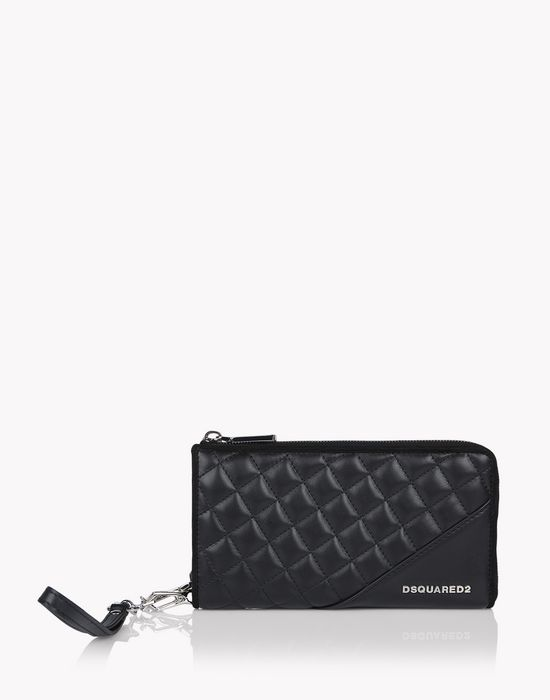 icon zip wallet bags Woman Dsquared2