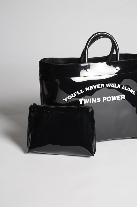 twins power medium tote bag bags Woman Dsquared2