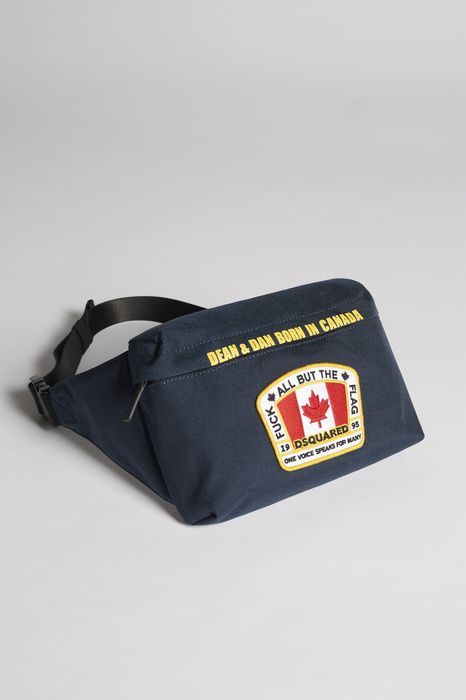 canada patch bum bag handbags Man Dsquared2
