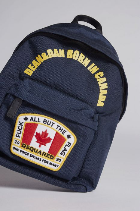 canada patch backpack bags Woman Dsquared2