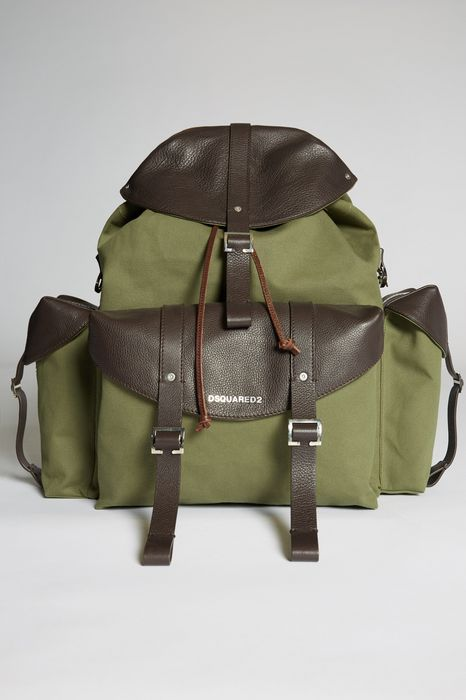bad scout camping backpack handbags Man Dsquared2
