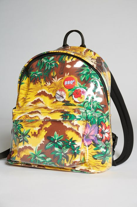 hawaiian rocker backpack handbags Man Dsquared2