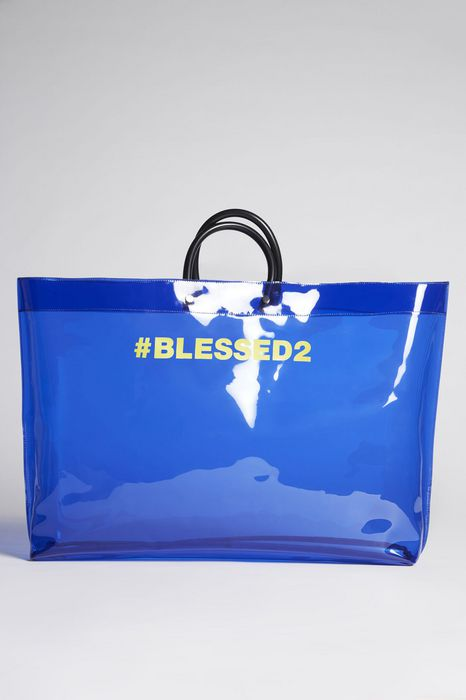 blessed2 large tote bag bags Woman Dsquared2