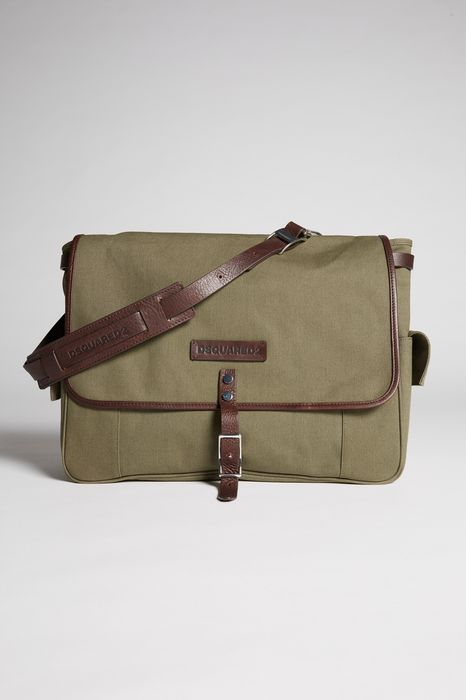 bad scout military trimmed postman bag handbags Man Dsquared2
