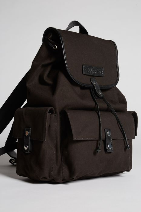 bad scout military trimmed backpack handbags Man Dsquared2