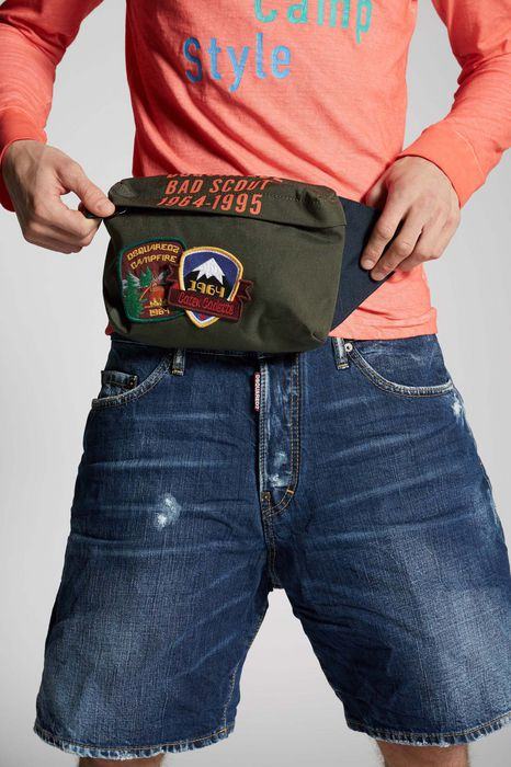 bad scout bum bag handbags Man Dsquared2
