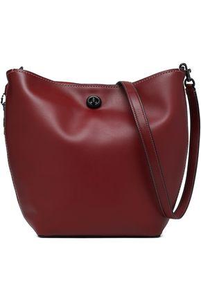 코치 가죽 숄더백 COACH Leather shoulder bag,Claret