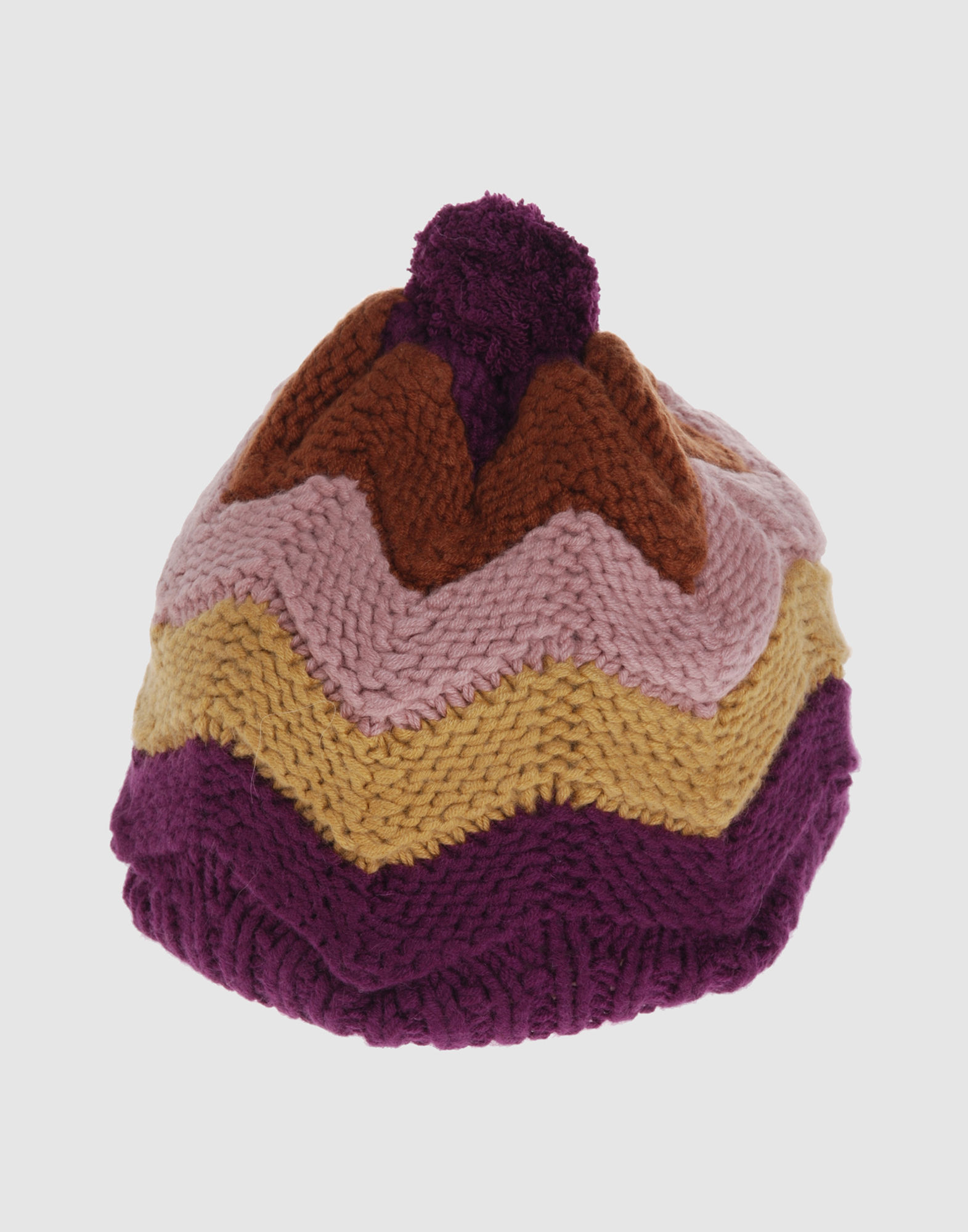 MISSONI Women - Accessories - Hat MISSONI on YOOX :  stripe missoni knit hat